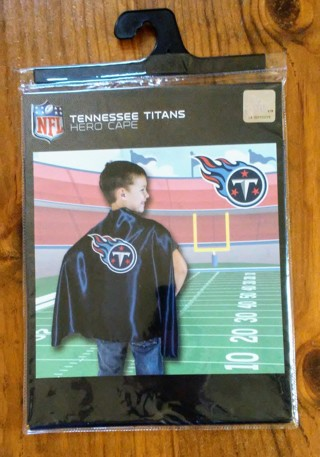 New NFL Tennessee Titans Hero Cape