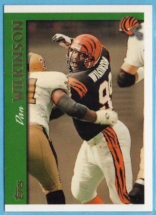 1997 Topps - Dan Wilkinson - Bengals