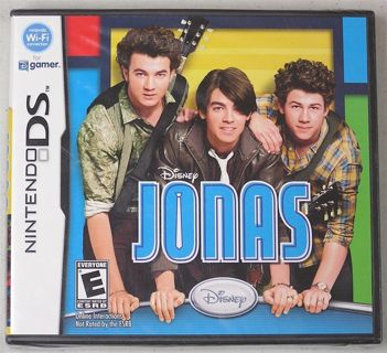NEW Disney's Jonas Brothers for Nintendo DS Video Game