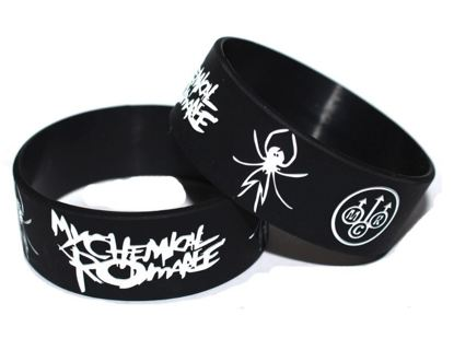 1 My Chemical Romance Wristband Bracelet Music Band Fan Jewelry Winner Wins ONE