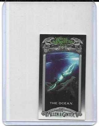The Ocean 2020 Allen & Ginter Mini Where Monsters Live #MWML4