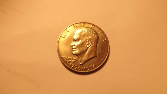 1976, 1976D IKE DOLLARS UNCIRCULATED