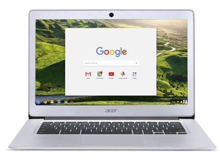 Acer Chromebook 14, Aluminum, 14-in Full HD, Intel Celeron Quad-Core N3160, 4GB LPDDR3, 32GB