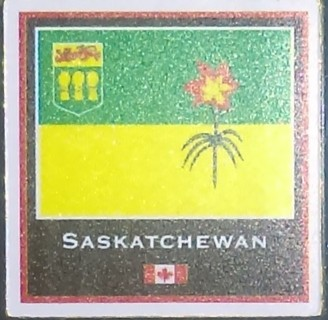 Canadian Provinces and Territory Sticker