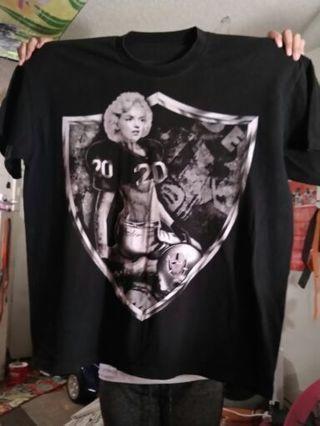 Raiders / Marilyn Monroe Shirt plus Black Sweatpants Both Size 3x