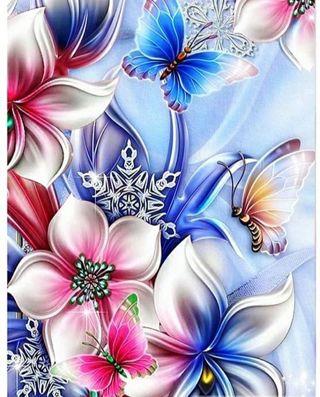 Flower Diamond Art Kit