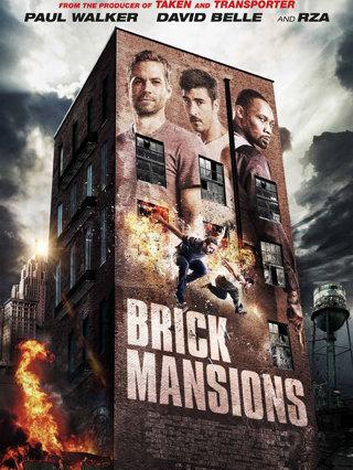 Brick Mansions HD Ultraviolet UV Digital Code/Copy From Blu Ray