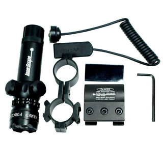 New Powerful Tactical Hunting Green Laser Sight Dot Scope Adjustable