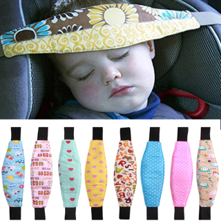 2x Car Safety Seat Sleep Positioner Infants And Baby Head Support Pram Stroller Fastening Belt