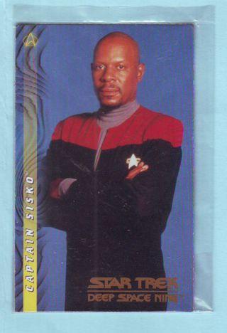 STILL SEALED 1997 SkyBox Star Trek Deep Space Nine Captain Sisko Card