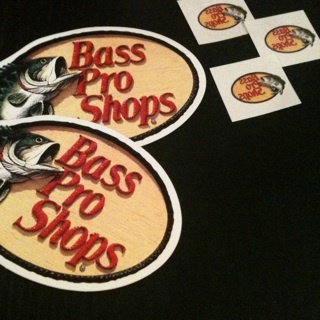 free bass pro shop sticker decals and tattoos other. Black Bedroom Furniture Sets. Home Design Ideas