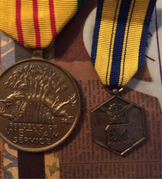 2 Military Medals