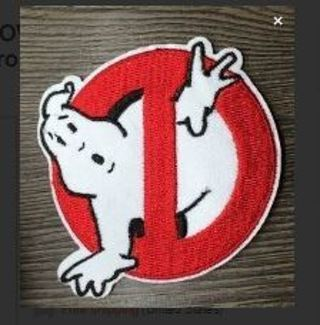 Ghost Busters Patch IRON ON Patch Clothing accessory Embroidery Applique*USA SELLER*