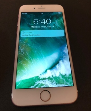Unlocked iPhone 6s Rose Gold 64gb!