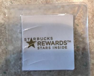 Starbucks Rewards Star points!!!!