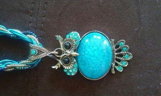 Beautiful OWL PENDANT Necklace. Brand new!