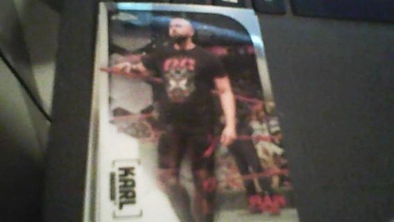 2020 WWE Topps Chrome Karl Anderson Wrestling card