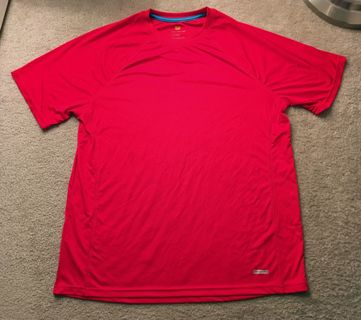 1 Athletic Shirt Men's Performance XL Red