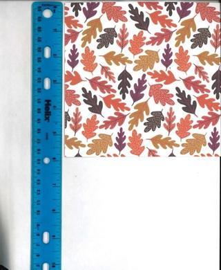 Fall Leaf Scrapbook Paper