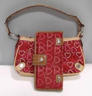 Free Xoxo Handbag And Wallet Red Hearts Euc Purse
