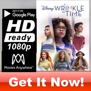 A WRINKLE IN TIME HD GOOGLE PLAY CODE ONLY