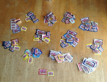124 box tops- not expired!