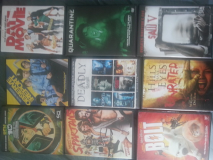 movies,DVD used