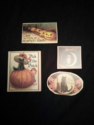 4 Halloween Die Cuts