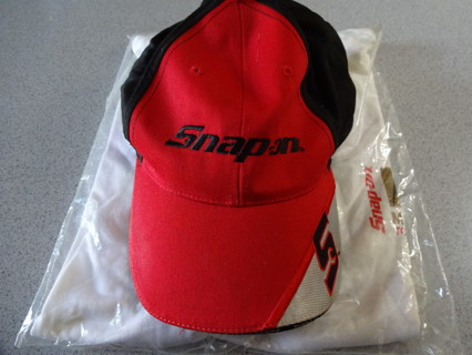 Snap-On Ball Cap with New Sealed XL T-Shirt