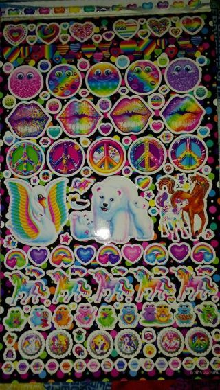 35 LISA FRANK Sticker's! 4