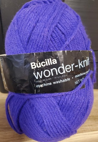 "NEW - Bucilla Yarn - ""Purple"""