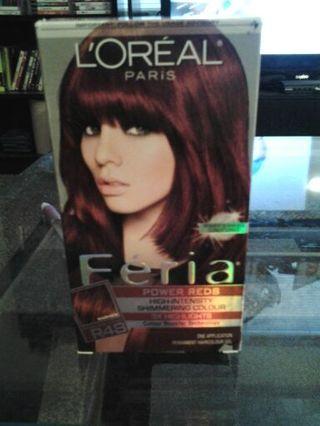 loreal hair dye instructions