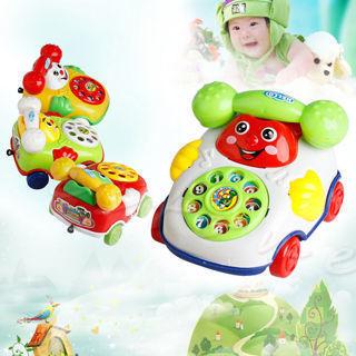2018 Baby Toys Music Cartoon Phone Educational Developmental Kids Toy Gift New