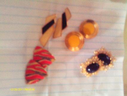 Lot of 3 pair of earrings