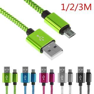 Micro USB geflochten Ladekabel cabel Datenkabel Handy Kabel für Samsung Galaxy
