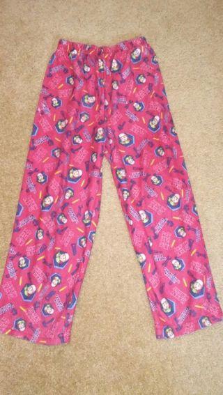 2 pair Boys PJ Pants Size 6/7