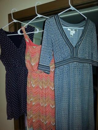 3 Small dresses