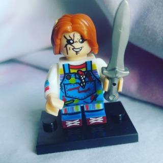 New Chucky Minifigure Building Toy Custom Lego