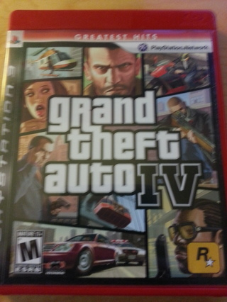 **Grand Theft Auto IV for PS3**