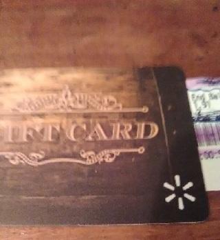 Wal Mart Gift Card