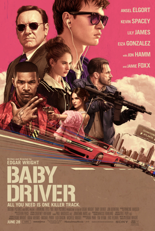 Baby Driver (HDX) (Movies Anywhere) iTunes, Vudu, Digital copy