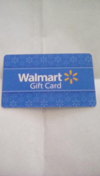 NEW $10.00 WALMART GIFT CARD