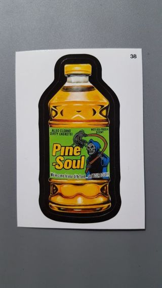 """2015 Topps Wacky Packages • Card #38 • """"Pine-Soul"""" • See Photos for all details"""