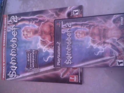 ps2 game summoner 2 with strategy guide