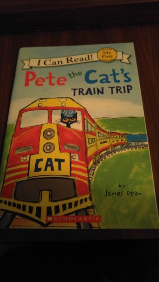 I can read books - Pete the Cat's Train Trip - new