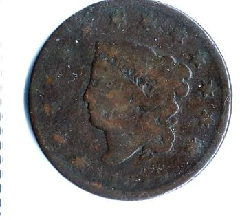 201 YEAR OLD 1819 US LARGE CENT