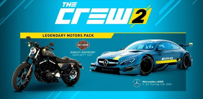 the crew 2 legendary motors pack DLC XBOX ONE