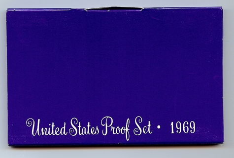 1969-S United States Proof Set with Silver JFK