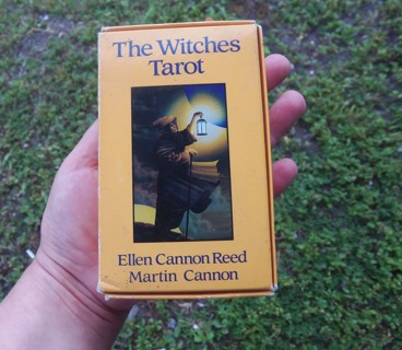 THE WITCHES TAROT ~ Vintage Deck ☽✪☾ Wicca Witchcraft Divination Magick Pagan Witch FREE SHIPPING
