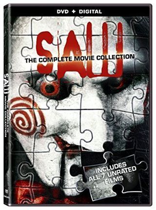 SAW Complete Movie Collection 1 2 3 4 5 6 7 Series DVD Box Set Horror UNRATED